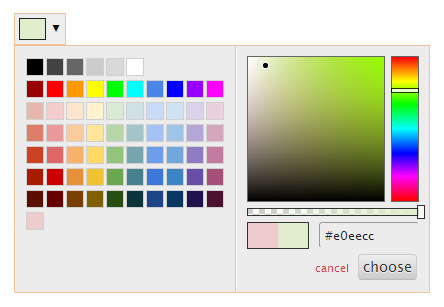 Perfect jQuery Color Picker Plugin – Spectrum