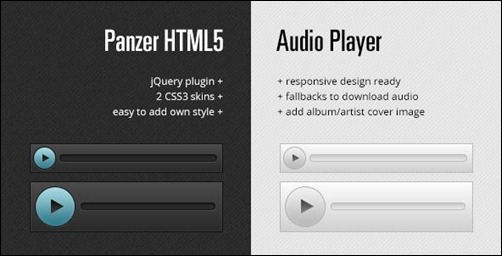 10+ Awesome jQuery and HTML5 Audio Players | Best 4 Web Design