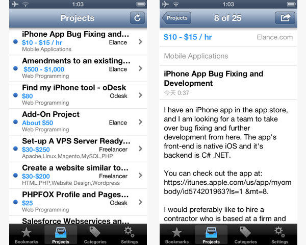 15 Awesome iOS Apps for Freelancers