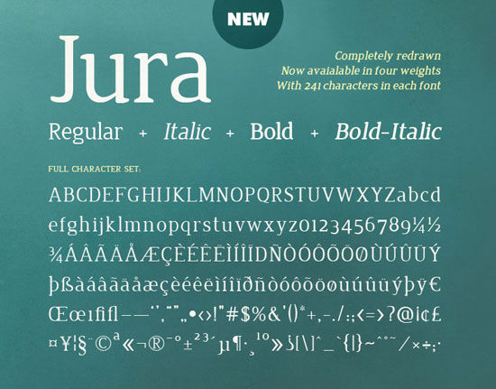 Useful New Free Fonts For Designers To Download And Use