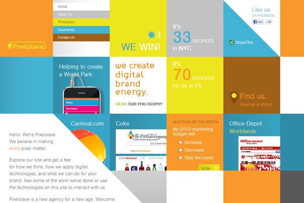50 Websites with Amazing Color Schemes