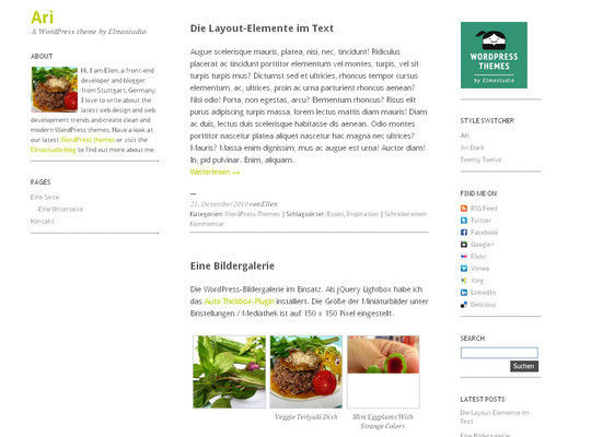 15 Free Minimal And Responsive WordPress Themes