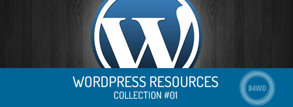 Best WordPress resources sorted by social ranking – collection #01