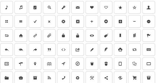 22 Sets of Free Icon Fonts For Designers and Developers
