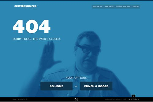 30 Creative Examples Of 404 Error Pages