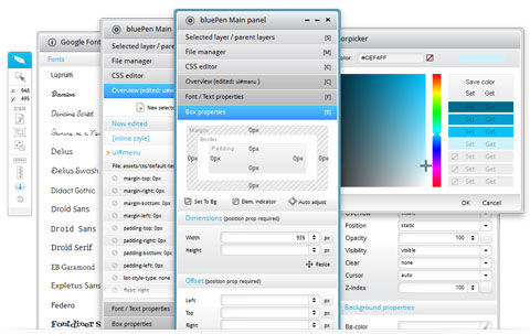 An Amazing, Free & Web-Based CSS Editor: bluePen Editor
