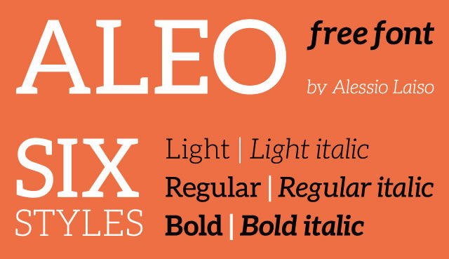 30 New Free Fonts for Headlines