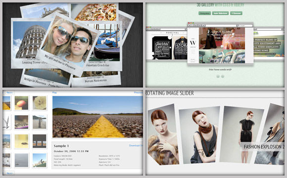 30 Powerful Ajax, JavaScript and Lightbox Based Image Galleries