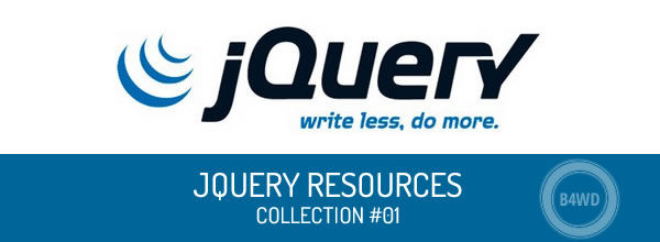 Best jQuery resources sorted by social ranking – collection #01
