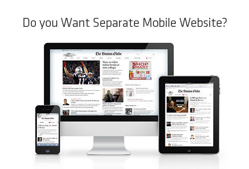 Have Responsive Websites Overshadowed Separate Mobile Websites?