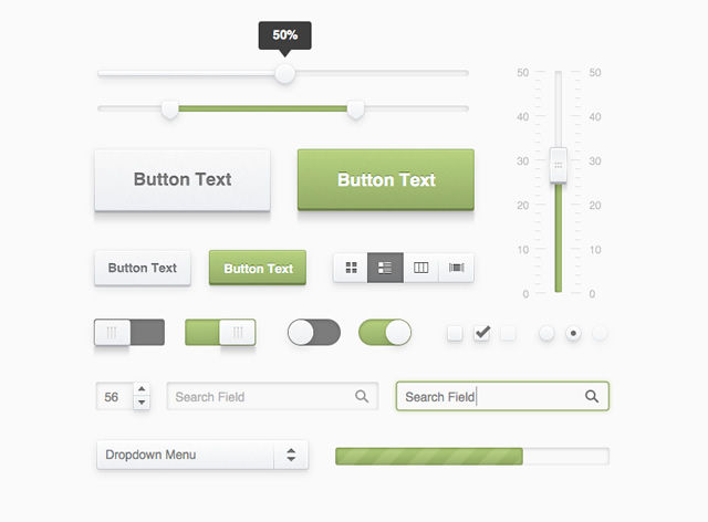 20 Free UI Templates for Sketch.app
