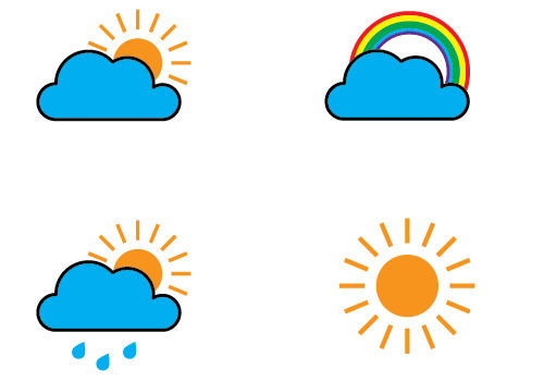 How to Create Weather Icons and Download Illustrator File