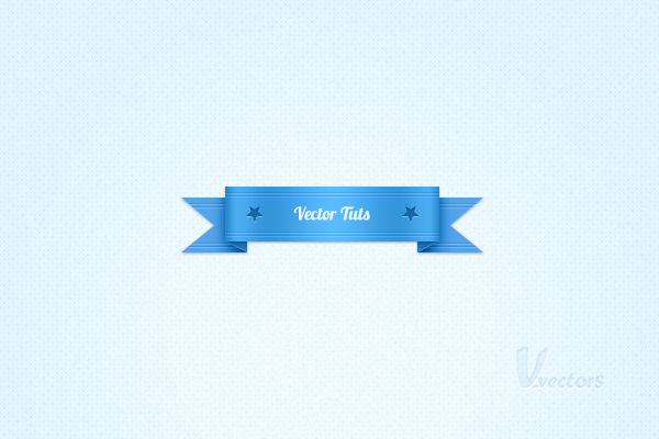 How to Create a Simple Vector Web Ribbon in Adobe Photoshop