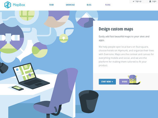 43 New and Inspiring Examples of Flat Web Design You Should See