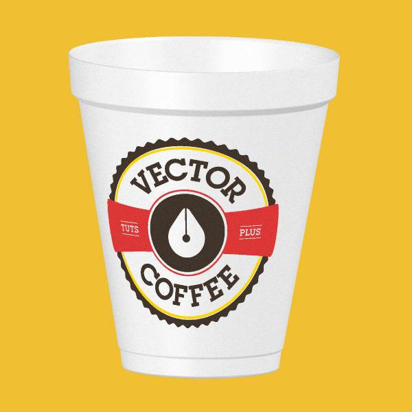 Create a Coffee Cup Mock Up in Adobe Illustrator Using the 3D Revolve Effect