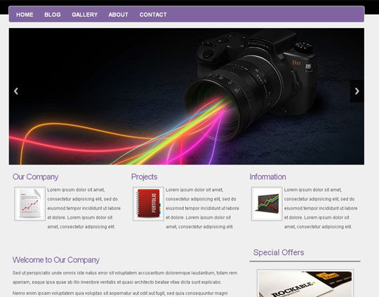 41 Totally Free Responsive HTML/CSS Website Templates