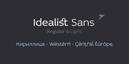 12 New and Free Commercial Use Fonts