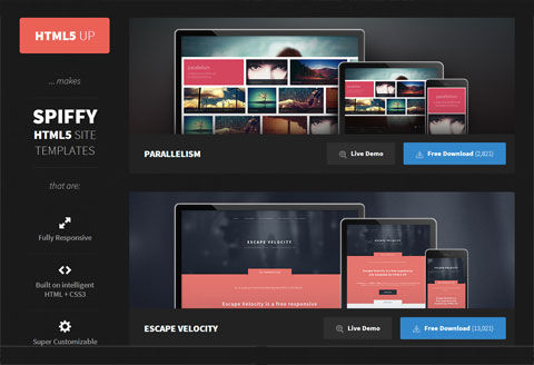 Beautiful, Free & Responsive HTML5 Templates