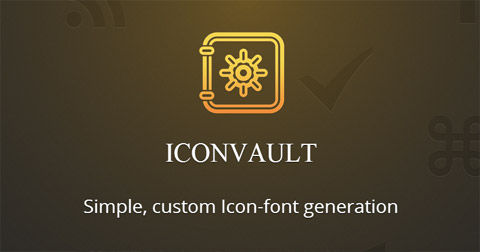 Web-Based Icon Font Generator – Iconvault