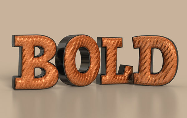 3D Bold Text Effect in Photoshop CS6