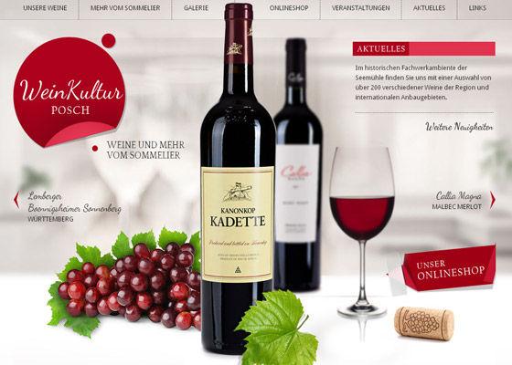 Inspirational Designs of Beverage Websites