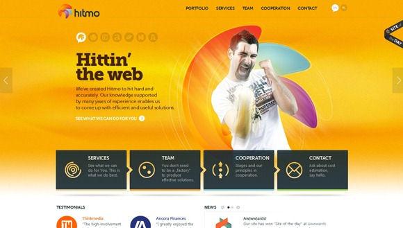 30 Beautiful Yellow Website Designs
