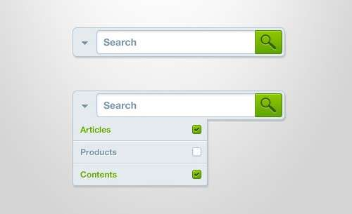 20 Amaaazing PSD Search Boxes