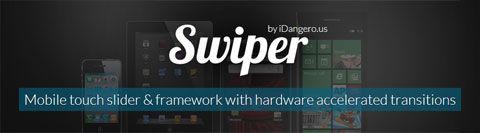 Framework-Free Mobile Slider – Swiper