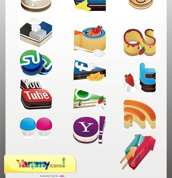 30 Best Social Bookmarking Icon Sets