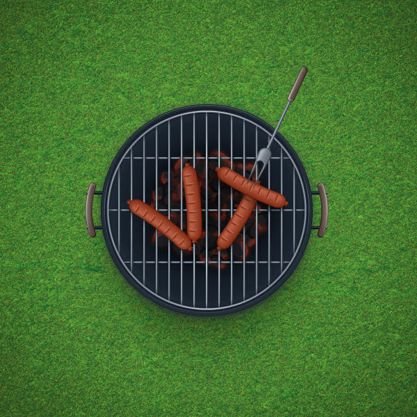 Create a Detailed BBQ in Adobe Illustrator