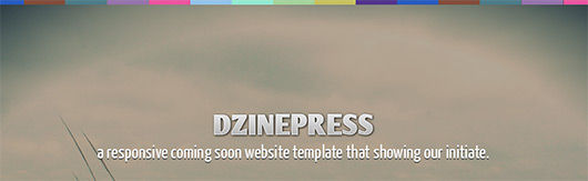 A Responsive Coming Soon Web Layout Design with Free PSD File
