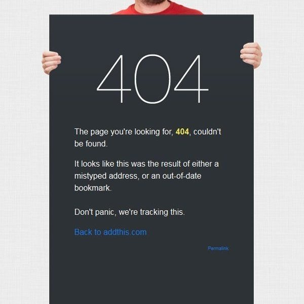 25+ Stunning 404 Error Pages For Inspiration