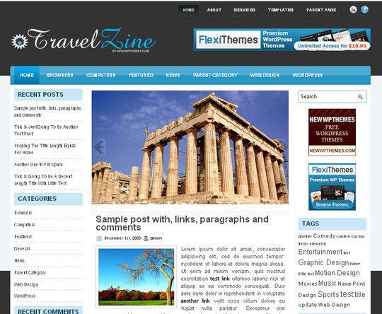 40 Beautiful 3 Column WordPress Themes For Free Download