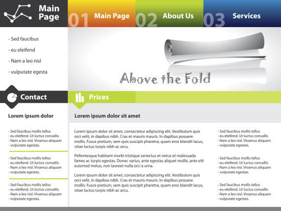 Above the Fold in Web Designing and its Benefits