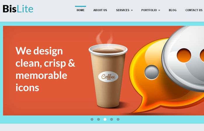 20 Free Responsive High Quality HTML/CSS Website Template