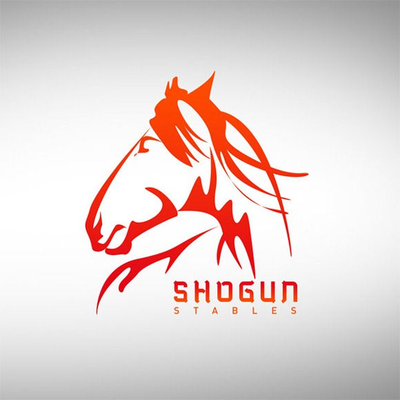 35 Horse inspired logo Designs for Designers Inspiration