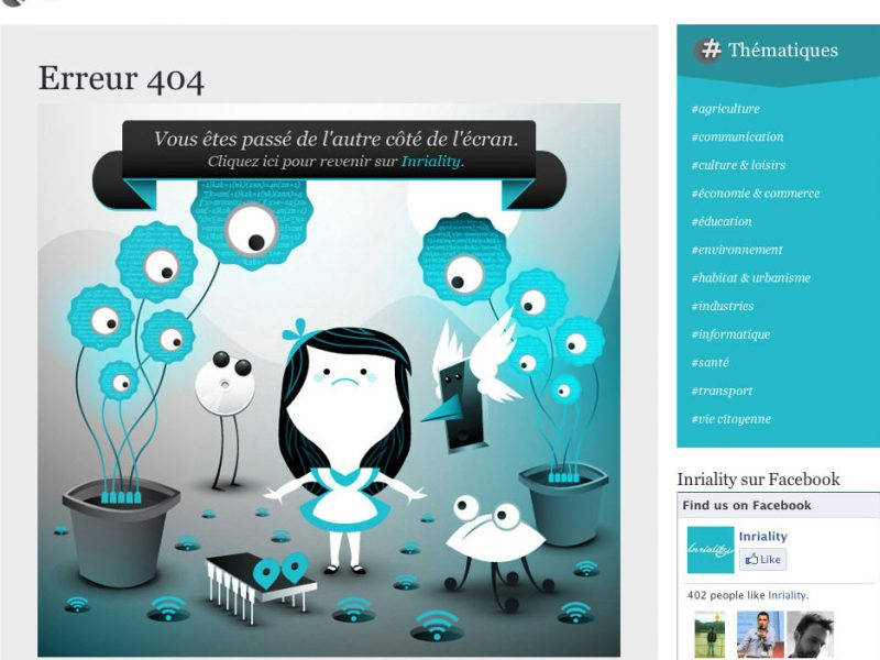 20 Insanely Creative 404 Pages
