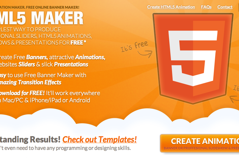 Create HTML5 Animation