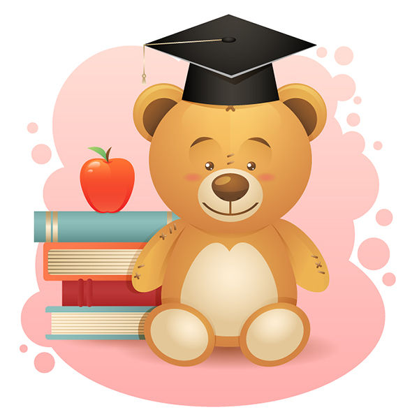 Create a Simple School Teddy Bear in Adobe Illustrator