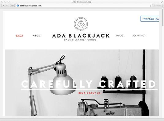 9 inspiring ecommerce website designs