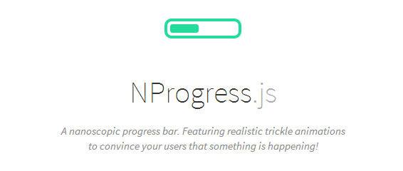 A nanoscopic progress bar, NProgress.js