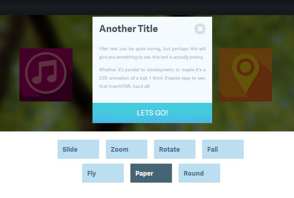 Creating CSS3 Animated Modal Windows in an Image Gallery