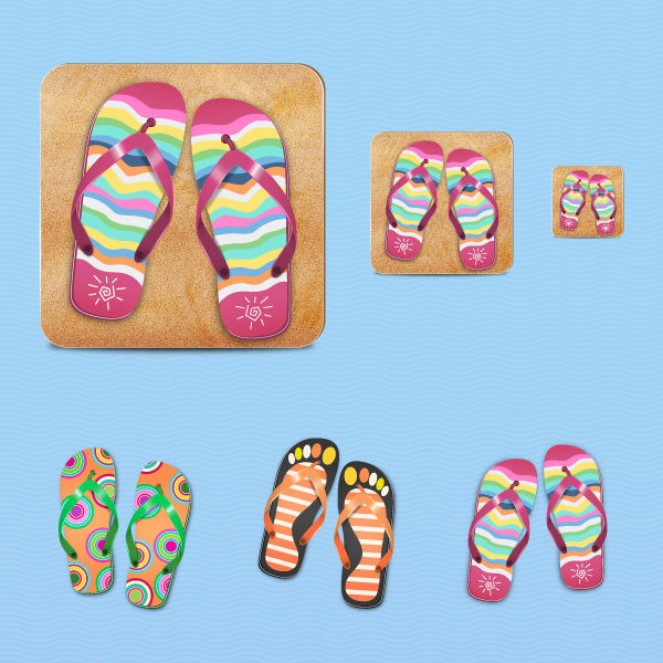 How to Create a Beautiful Flip Flop Icon in Adobe Illustrator