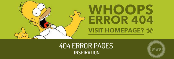 200+ Creative Example of 404 Error Pages for Inspiration