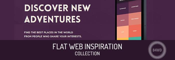 300+ Flat Web UI Design Inspiration