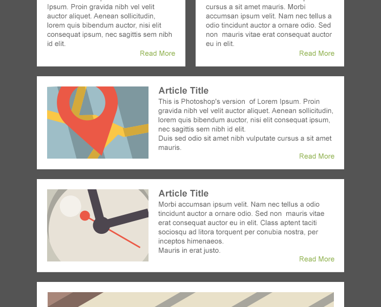 Free Download: Responsive Email Template from EmailCraft