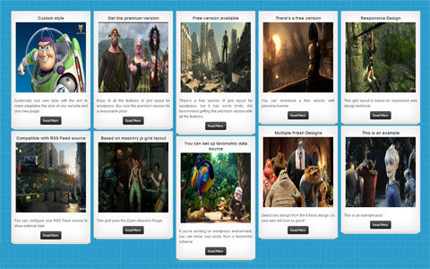 Responsive Grid Layouts For WordPress