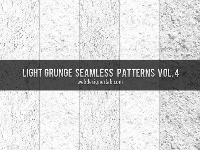 Light Grunge Patterns Vol. 4