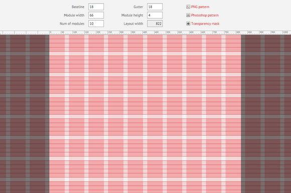 Create Modular Grid Easily with Modular Grid Pattern