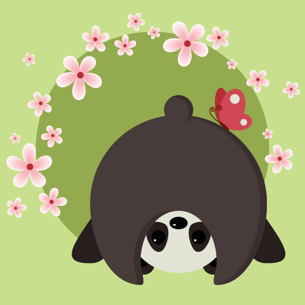 Create a Cute and Simple Panda With Basic Shapes in Adobe Illustrator